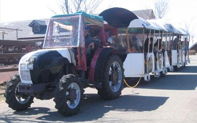 トラクターバス