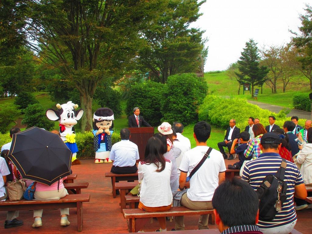 蒲島県知事より、お言葉を頂戴しました。