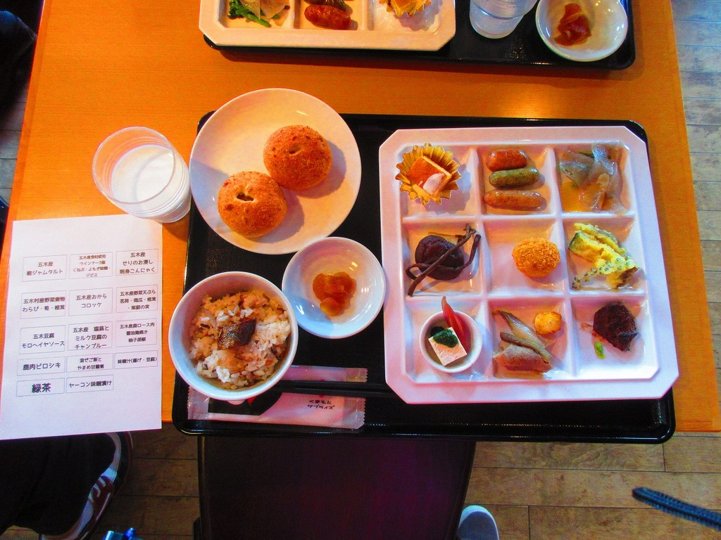 五木村の食材と牧場製品のコラボは、オススメですよ☆