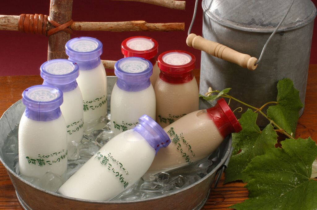 瓶牛乳がより一層美味しさを引き立たせます★