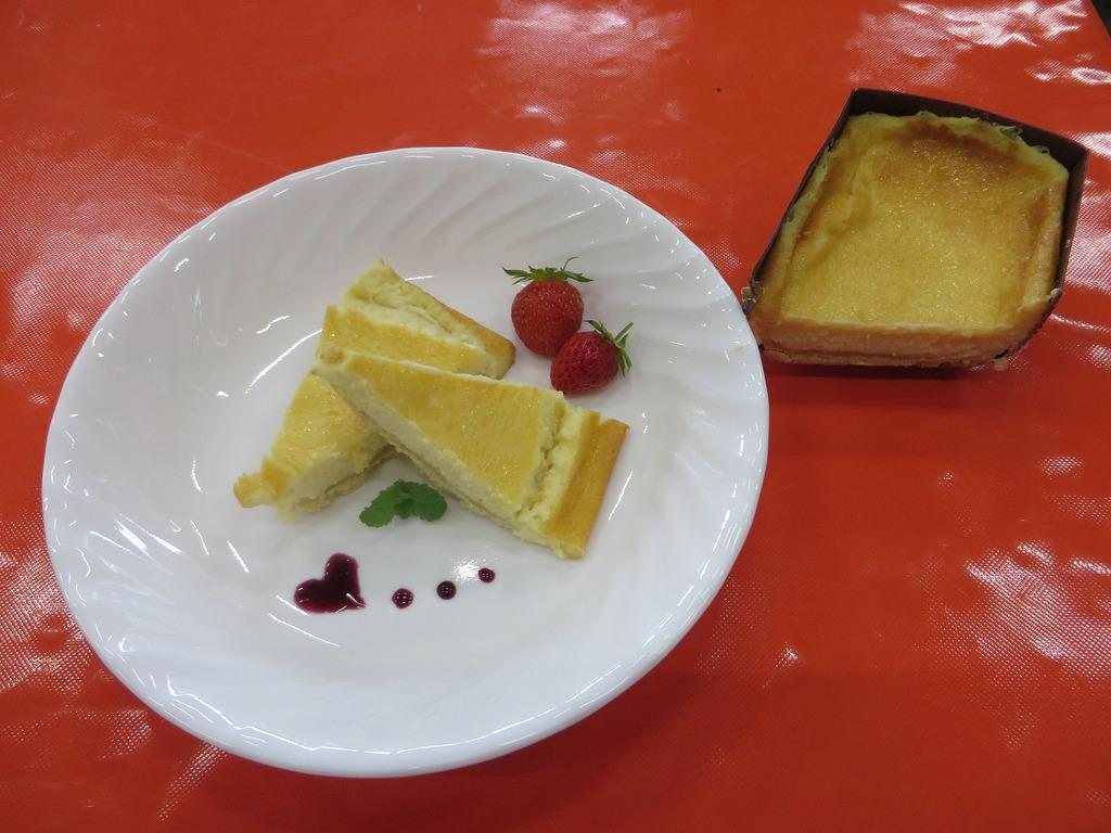 11月9・10日チーズ祭り限定『焼きチーズケーキづくり』