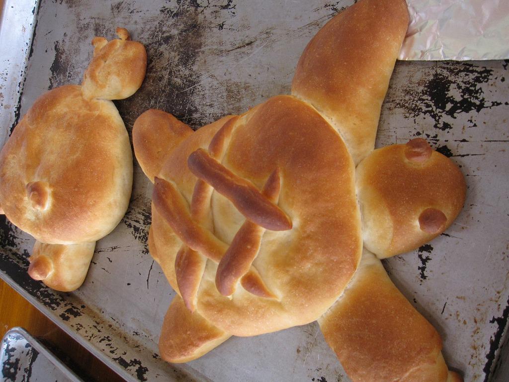 最後にできあがったパンをもらって終了です~~♪
