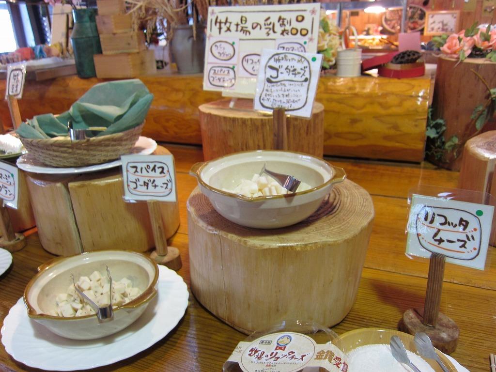 チーズのコーナー☆