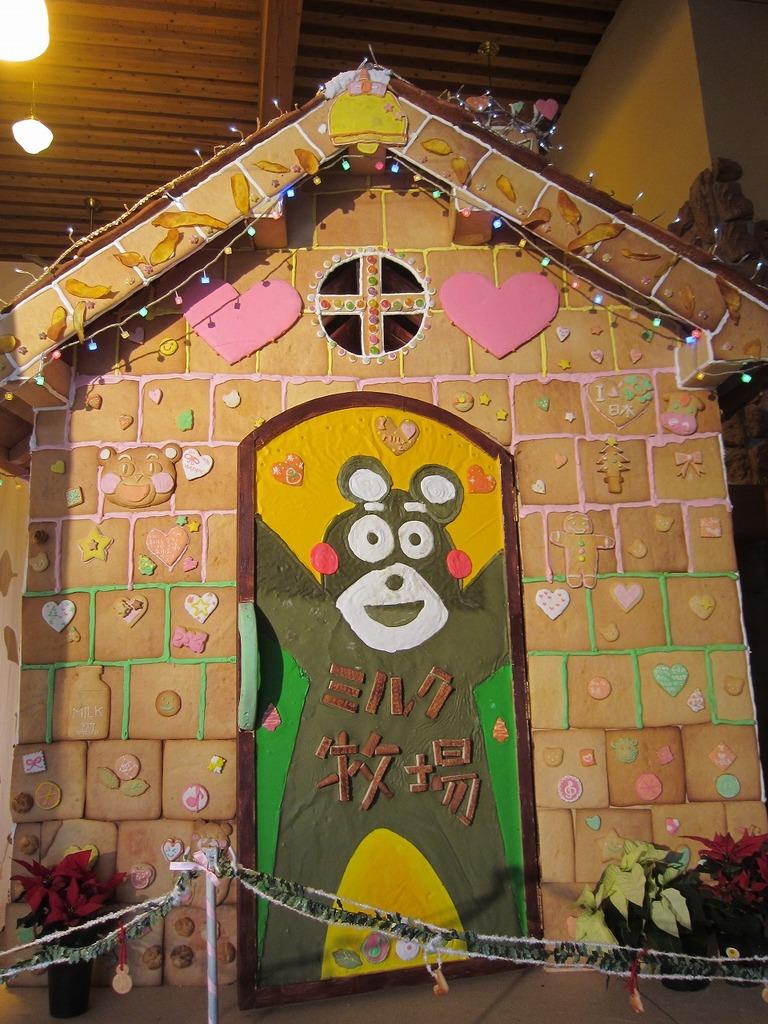 今年の扉には、熊本っ子に大人気のくまモンが!!!