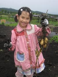 ジャガイモ収穫しました~☆