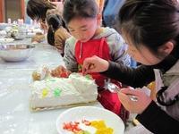 2013 特別メニュー★クリスマスケーキづくり体験♪